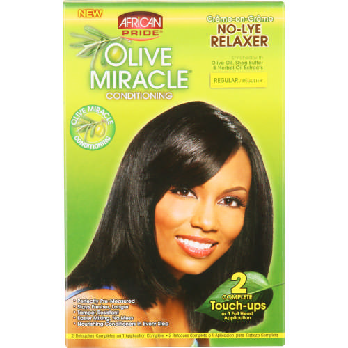 Olive Miracle Conditioning No-Lye Relaxer Regular