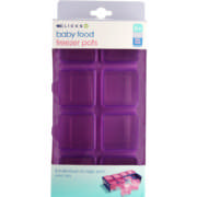 Baby Food Freezer Pots 8 Pack