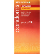 Condoms Ultra Fine 12 Pack