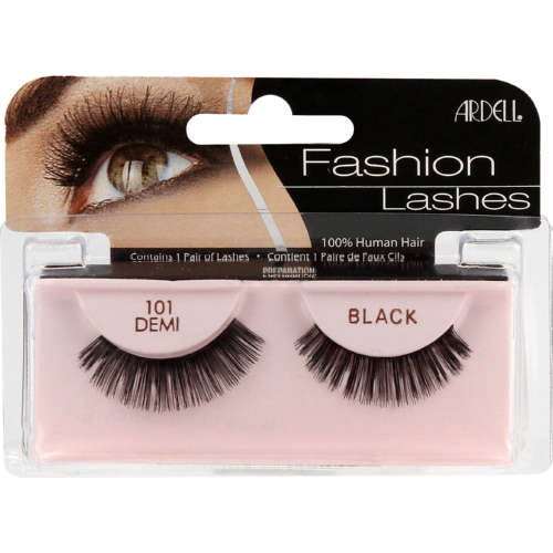 998a6c89720 Ardell Glamour Lashes 101 Demi Black - Clicks