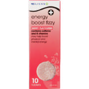 Energy Boost Fizzy Berry 10 Tablets