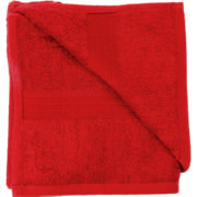 Cotton Hand Towel Red