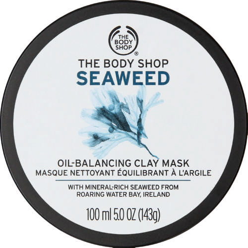 Seaweed Face Mask Oil Balancing Clay 100ml
