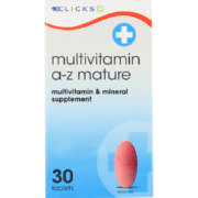 Multivitamin A-Z Mature 30 Tablets