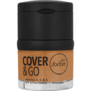 Cover & Go SPF6 Foundation & Concealer Butter Scotch 25ml + 1.2gr