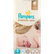 Premium Care Jumbo Pack Size 5 56 Disposable Nappies