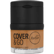 Cover & Go SPF6 Foundation & Concealer Sienna 25ml + 1.2gr