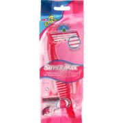 Confidence Triple Blade Disposable Razors For Women 6 Pack