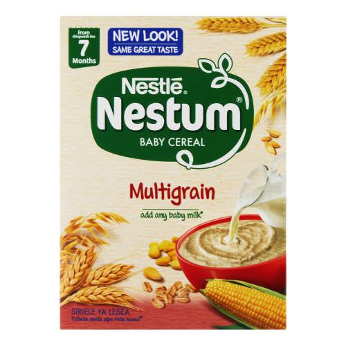 Nestle Nestum Baby Cereal Mixed Cereals 250g