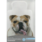 Microwavable Warmer With Printed Cover-Bull Dog