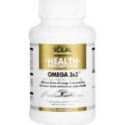 Health Prescriptions Omega 3x3 60 Softgels