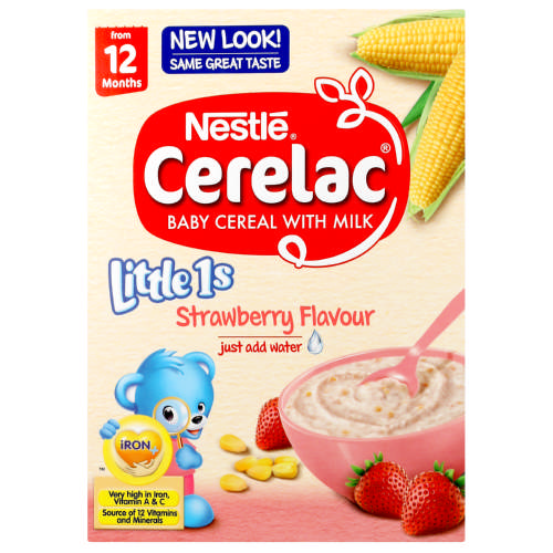 Cerelac Little 1s Cereal With Milk Strawberry 250g