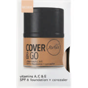 Cover & Go SPF6 Foundation & Concealer Natural 25ml + 1.2gr