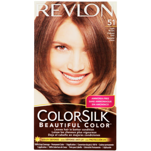 Revlon Colorsilk Hair Colour Light Brown 51 Clicks