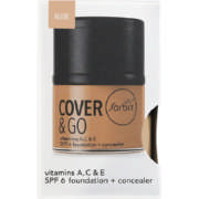 Cover & Go SPF6 Foundation & Concealer Nude 25ml + 1.2gr