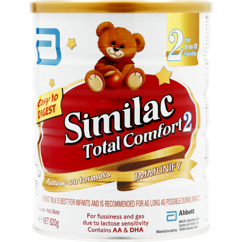 Total Comfort Stage 2 Follow-On Formula 820g