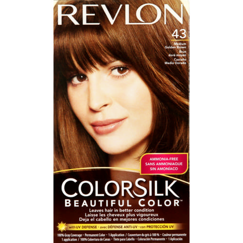 6537cdd88434 Revlon ColorSilk Beautiful Color Permanent Hair Colour Medium Golden ...
