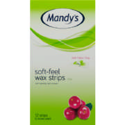 Soft-Feel Wax Strips Legs 12 Wax Strips