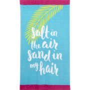 Beach Towel Salt In The Air