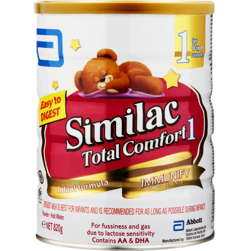 Similac Total Comfort Stage 1 820g Clicks