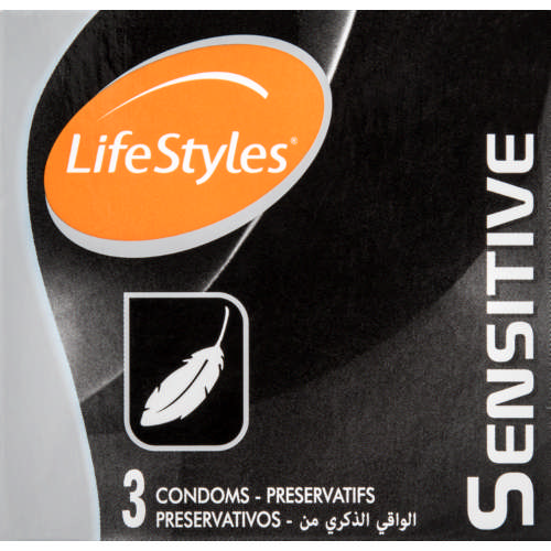 Condoms Sensitive 3's