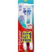 360 Degrees Toothbrushes Medium 2 Pack