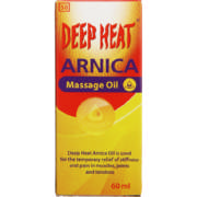 Arnica Massage Oil 60ml