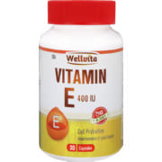 400IU Vitamin E Cell Protection Capsules 30 Capsules