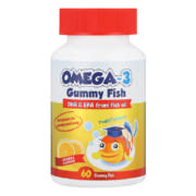 Omega-3 Gummy Fish Orange 60 Gummy Fish