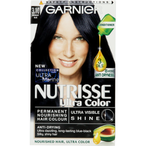 Garnier Nutrisse Ultra Color Nourishing Hair Colour 3.10 Midnight ...