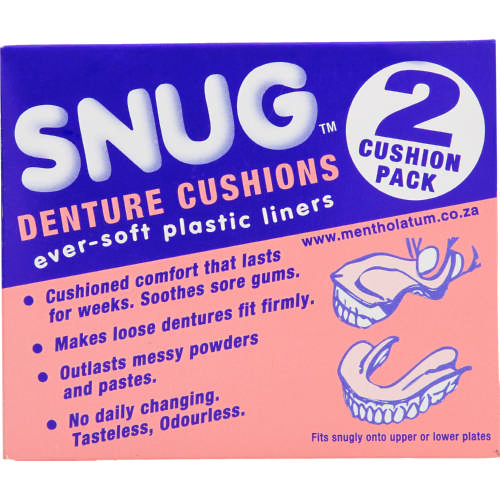 Denture Cushions 2 Pack
