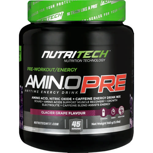 Amino Pre Glacier Grape 540g