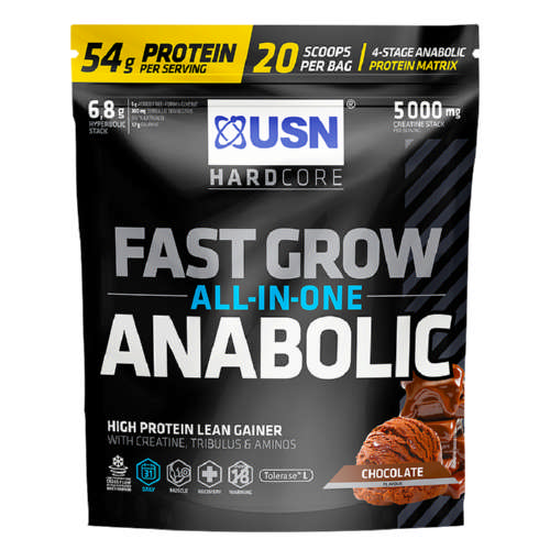 Hard Core Series Fast Grow Anabolic Chocolate 1kg