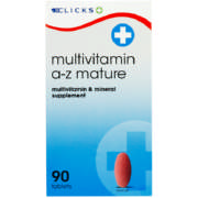 Multivitamin A-Z Mature 90 Tablets