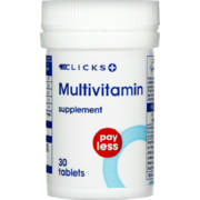 Pay Less Multivitamin Supplement 30 Tablets