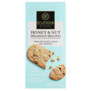 Breakfast Biscuit Honey & Nut 300g
