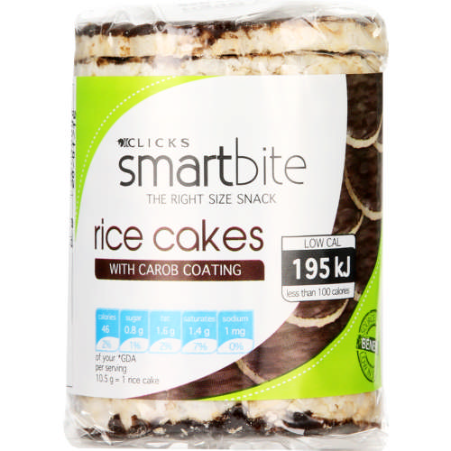 Rice Cakes With Carob Coating 105g