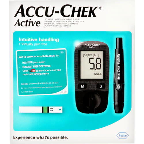 Active Blood Glucose Monitoring System