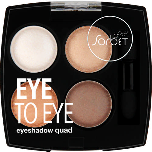 Eye To Eye Eyeshadow Quad Cocoa Crush 6g