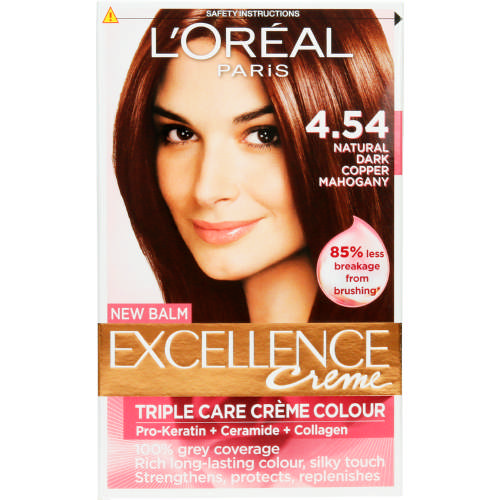 Excellence Creme Hair Colour Dark Copper Mahogany 1 Application