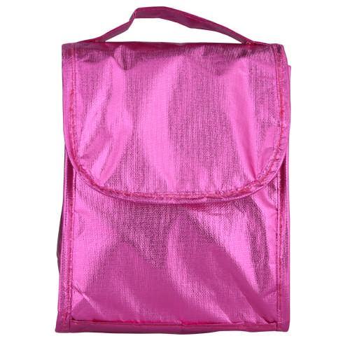 Lunch Bag Metallic Pink