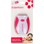Ladies' Battery-operated Shaver