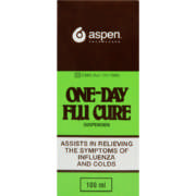 One-Day Flu Cure Suspension 100ml