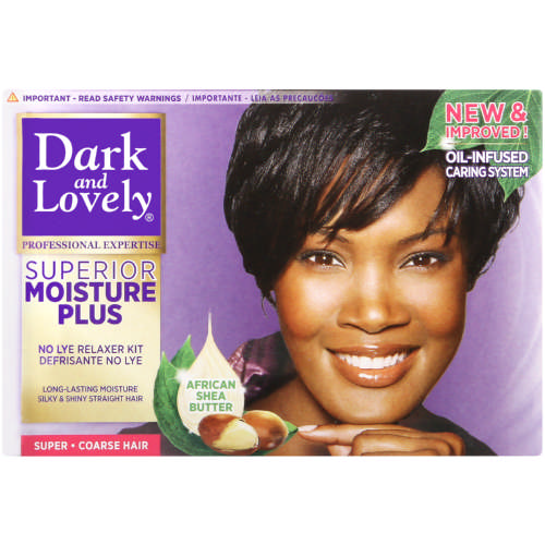 Moisture Plus No-Lye Relaxer Super