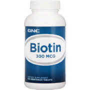 Biotin 300 Mcg Dietary Supplement 100 Capsules