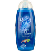 Revive Shower Gel Mens 3-In-1 400ml