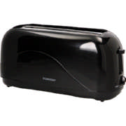 4 Slice Toaster Black