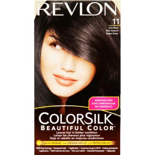 Revlon Colorsilk Beautiful Color Soft Black 11 Clicks