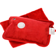 Electrical Hot Water Bottle Red