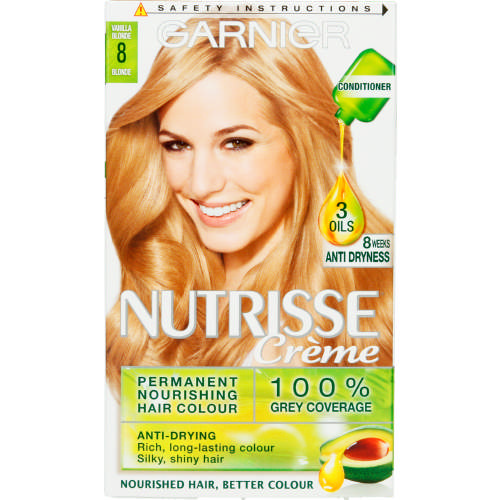 Nutrisse Creme Hair Colour Vanilla Blonde 1 Application